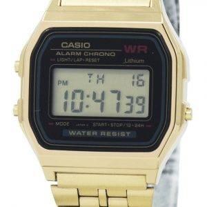 Casio digitaalinen hälytys Chrono ruostumaton teräs A159WGEA-1DF A159WGEA-1 naisten kello