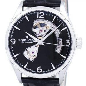 Hamilton Jazzmaster Viewmatic avoimin sydämin automaattinen H32705731 Miesten Watch