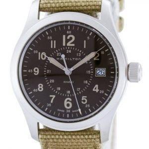Hamilton Khaki arkistoida kvartsi Sveitsin tehty H68201993 Miesten Watch