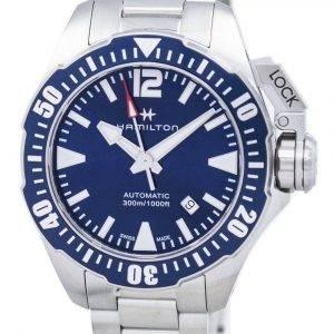 Hamilton Khaki Navy Frogman automaattinen H77705145 Miesten Watch