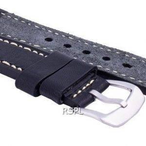 Seiko LS16 musta kumihihna 22mm