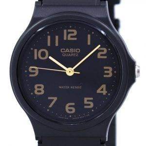 Casio klassinen kvartsi musta hihna MQ-24-1B2LDF MQ24-1B2LDF miesten kello