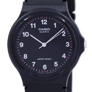 Casio Classic analoginen kvartsi musta hartsi MQ-24-1BLDF MQ24-1BLDF miesten kello