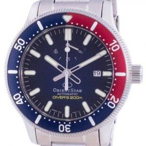 Orient Star Automatic Diver's RE-AU0306L00B Japan Made 200M Men's Watch