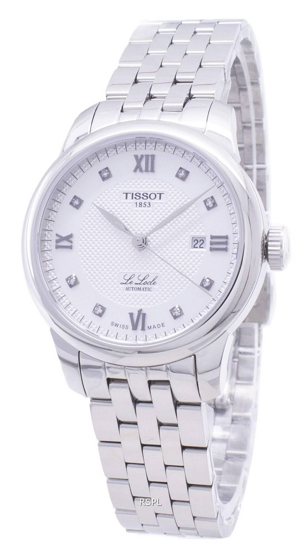 Tissot T-Classic Le Locle T006.207.11.036.00 T0062071103600 Automaattinen naisten katselu
