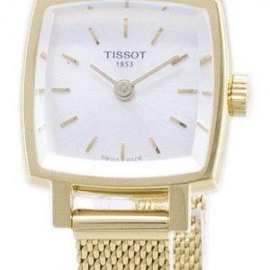 Tissot T-Lady Lovely neliö T 058.109.33.031.00 T0581093303100 kvartsi analoginen naisten Watch