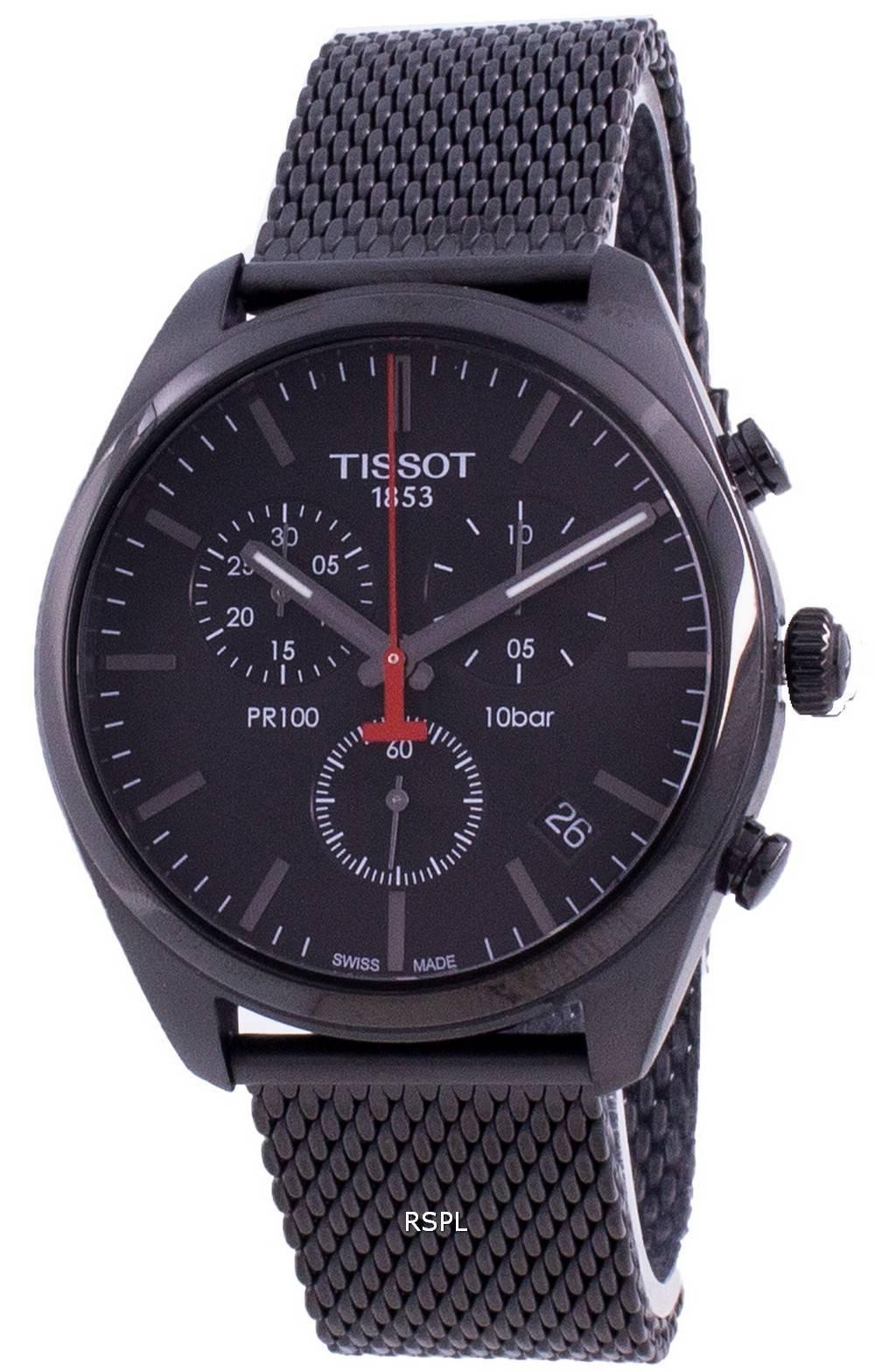 Tissot PR 100 T101.417.33.051.00 T1014173305100 Quartz Chronograph miesten kello