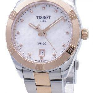 Tissot T-Classic PR100 T101.910.22.116.00 T1019102211600 Diamond-aksentti Naisten kello