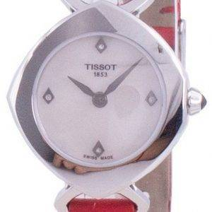 Tissot Femini-T Mother Of Pearl Dial Diamond T113.109.16.116.00 T1131091611600 Quartz Women's Watch