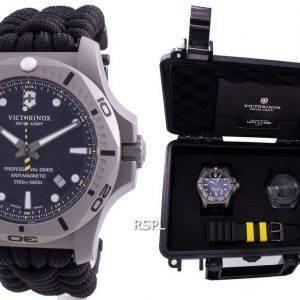 Victorinox Sveitsin armeijan INOX Professional-sukeltaja titaani antimagneettinen 241812 kvartsi 200M miesten kello