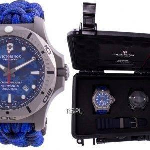 Victorinox Swiss Army I.N.O.X. Professional Diver Titanium Anti-Magnetic 241813 Quartz 200M Men's Watch