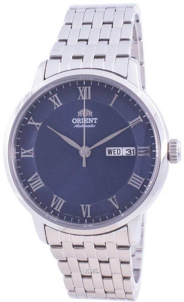 Orient Classic Blue Dial Automatic RA-AA0A03L0BD 100M Men's Watch