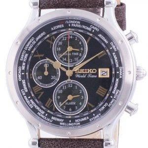 Seiko 30th Anniversary Age Of Discovery World Time SPL057P SPL057P1 SPL057P Quartz Chronograph Limited Edition Men's Watch