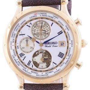 Seiko 30th Anniversary Age Of Discovery World Time SPL060 SPL060P1 SPL060P Quartz Chronograph Limited Edition Men's Watch