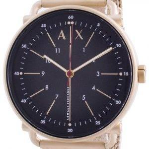 Armani Exchange Rocco Black Dial Quartz AX2901 Mens Watch
