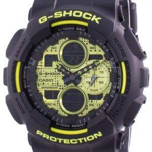 Casio G-Shock maailmanajan kvartsi GA-140DC-1A GA140DC-1A 200M miesten kello