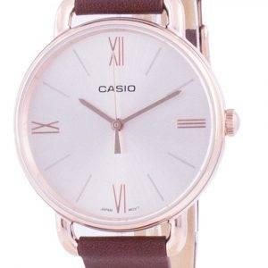 Casio Rose Gold Tone Dial Quartz LTP-E414PL-5A LTPE414PL-5A naisten kello