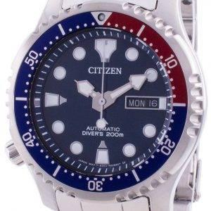 Citizen Promaster Diver's Blue Dial Automatic NY0086-83L 200M Men's Watch
