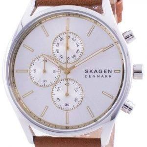 Skagen Holst Chronograph Silver Dial Quartz SKW6607 Men's Watch