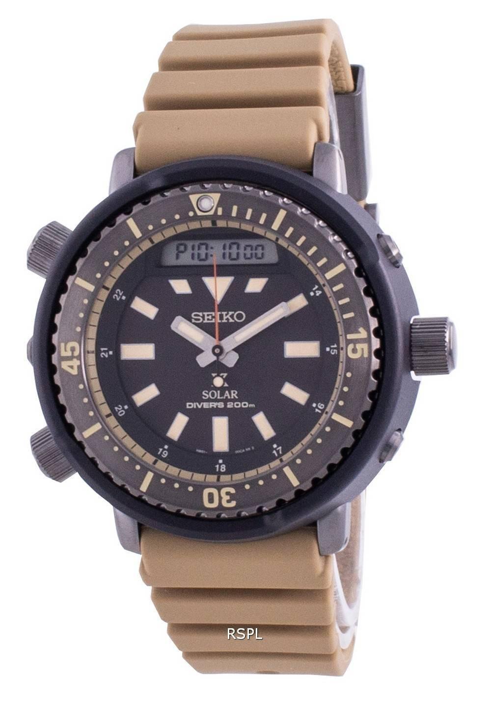 Seiko Prospex Street Series Diver&#39,s Solar SNJ029 SNJ029P1 SNJ029P 200M miesten kello