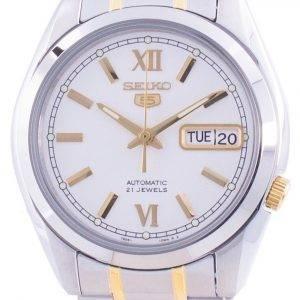 Seiko 5 Automatic White Dial SNKL57 SNKL57K1 SNKL57K Men's Watch