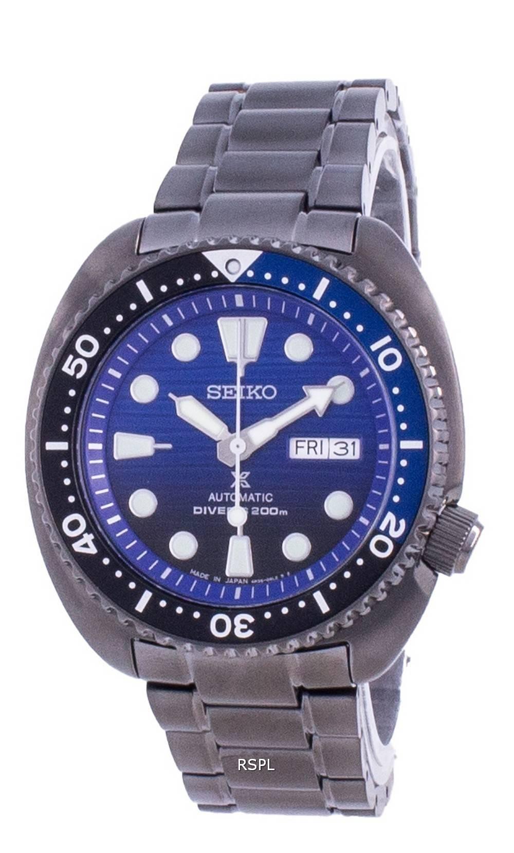 Seiko Prospex Save The Ocean Turtle Edition automaattinen SRPD11 SRPD11J1 SRPD11J 200M miesten kello