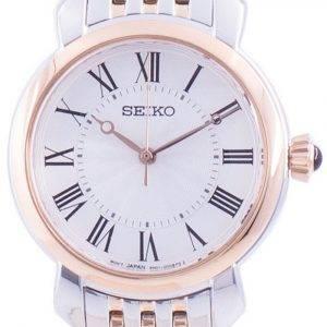 Seiko Discover More White Dial Quartz SUR628 SUR628P1 SUR628P Women's Watch