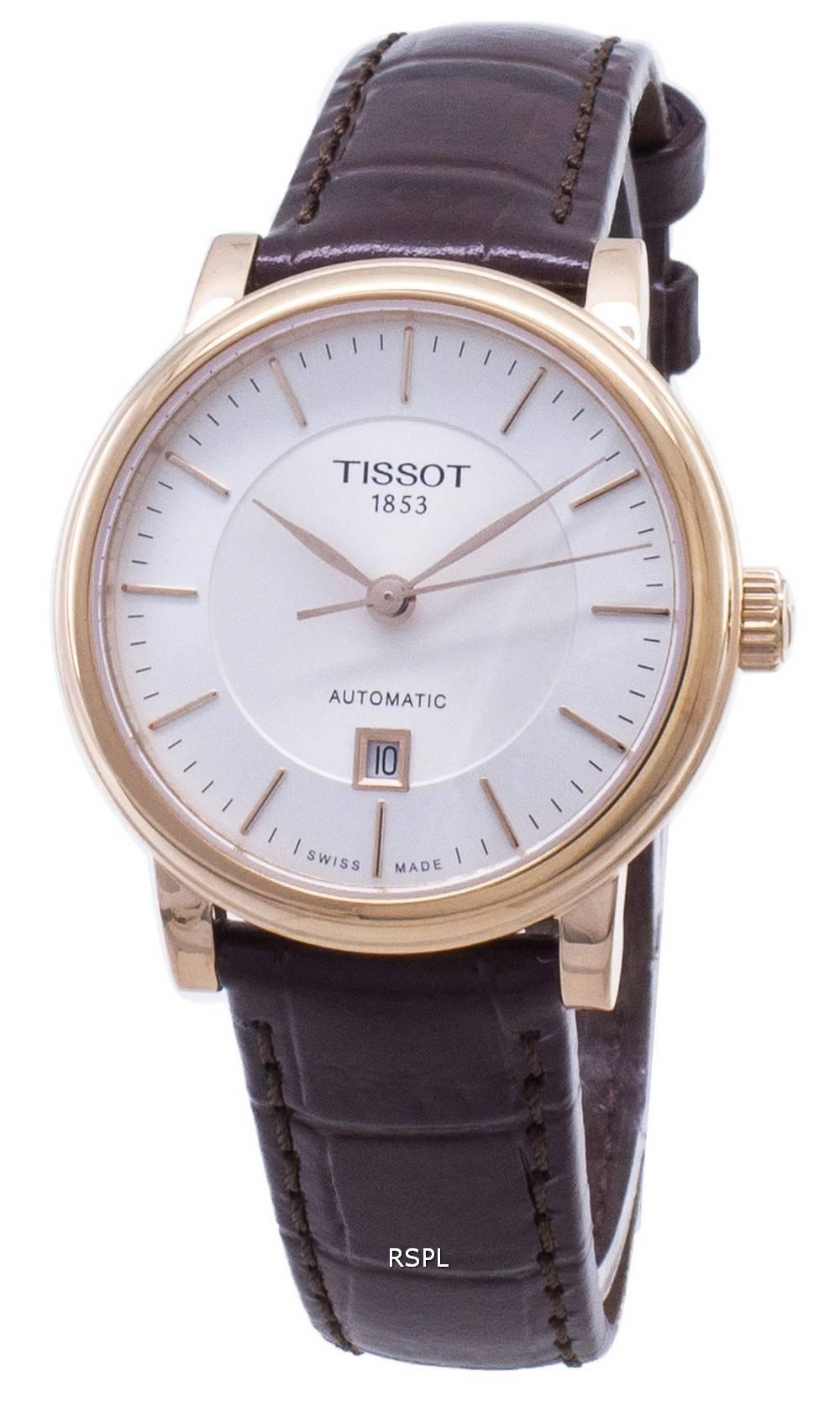 Tissot T-Classic Carson T122.207.36.031.00 T1222073603100 Automatic Women's Watch