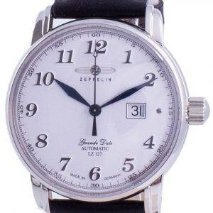 Zeppelin LZ127 Graf White Dial Automatic 7652-1 76521 Men's Watch