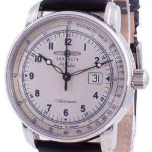 Zeppelin 100 Jahre Pulsometer Automatic 7654-4 76544 Men's Watch