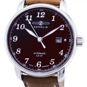 Zeppelin sarjan LZ127 Graf 8656 3 86563 Saksa teki Miesten Watch