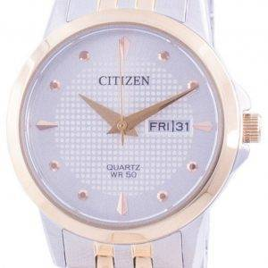 Citizen Silver Dial Stainless Steel Quartz EQ0605-53A Women's Watch