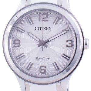 Citizen Silver Dial Stainless Steel Eco-Drive FE7071-84A 100M Women's Watch