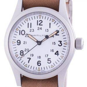 Hamilton Khaki Field White Dial Automatic H69439511 Men's Watch