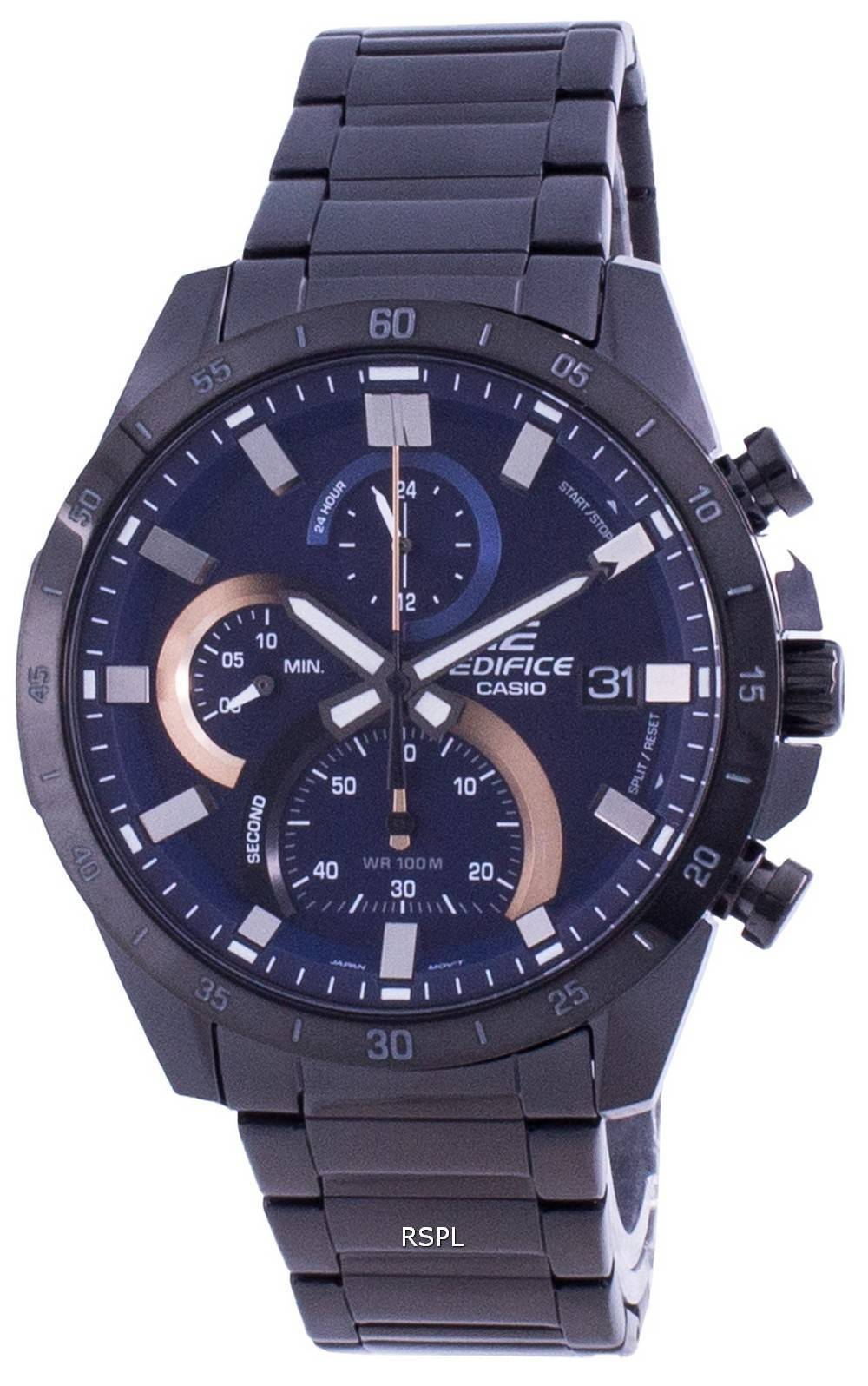 Casio rakennuksen standardi ajanoton kvartsi EFR-571DC-2A EFR571DC-2 miesten kello