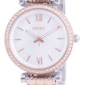 Fossil Carlie Mini Diamond aksentti kvartsi ES4649 naisten kello