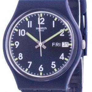 Swatch Ultralavande Purple Dial silikonihihna kvartsi GE718 miesten kello