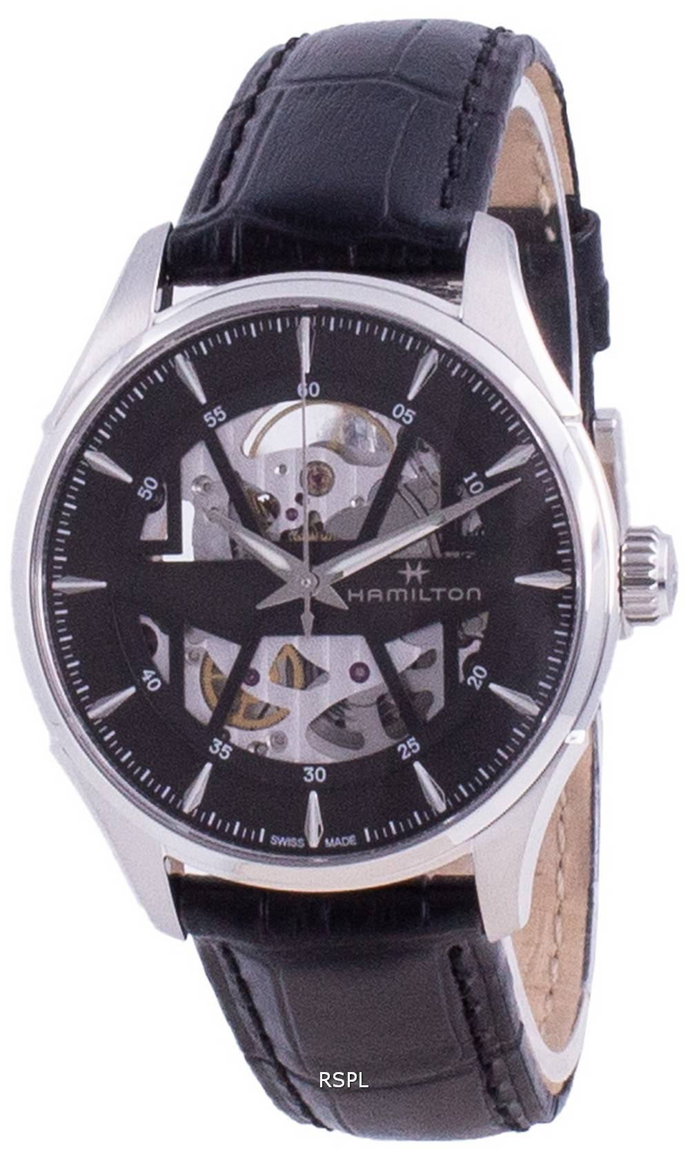 Hamilton Jazzmaster Skeleton Dial Automatic H42535780 miesten kello