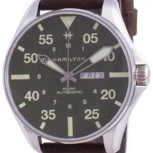 Hamilton Khaki Pilot Schott NYC Limited Edition Automatic H64735561 200M Diver&#39,s Miesten kello