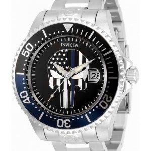 Invicta Pro Diver Skull Black Dial Automatic 31928 300M miesten kello