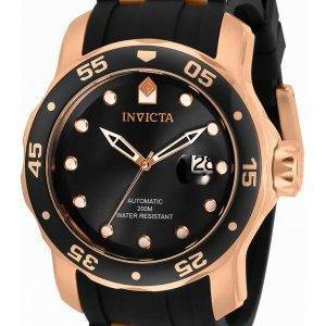 Invicta Pro Diver Black Dial Automatic 33340 200M miesten kello