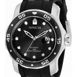 Invicta Pro Diver Black Dial Automatic 33341 200M miesten kello