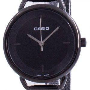 Casio musta soittaa kvartsi LTP-E413MB-1A LTPE413MB-1 naisten kello