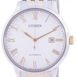 Citizen Silver Dial Automatic NJ0084-59A Japanin valmistama miesten kello
