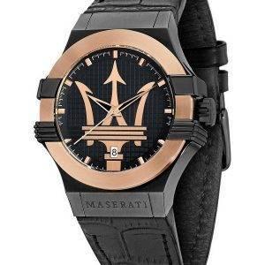 Maserati Potenza Black Dial Quartz R8851108032 100M miesten kello