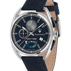 Maserati Trimarano Yacht Timer Chronograph Quartz R8851132001 100M miesten kello