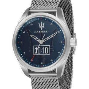 Maserati Traguardo Blue Dial Quartz R8853112002 100M miesten kello
