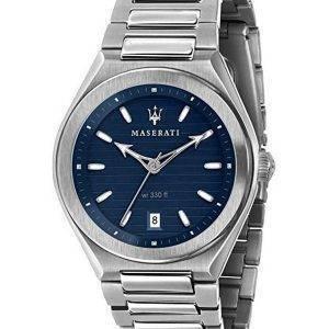 Maserati Triconic Blue Dial Quartz R8853139002 100M miesten kello