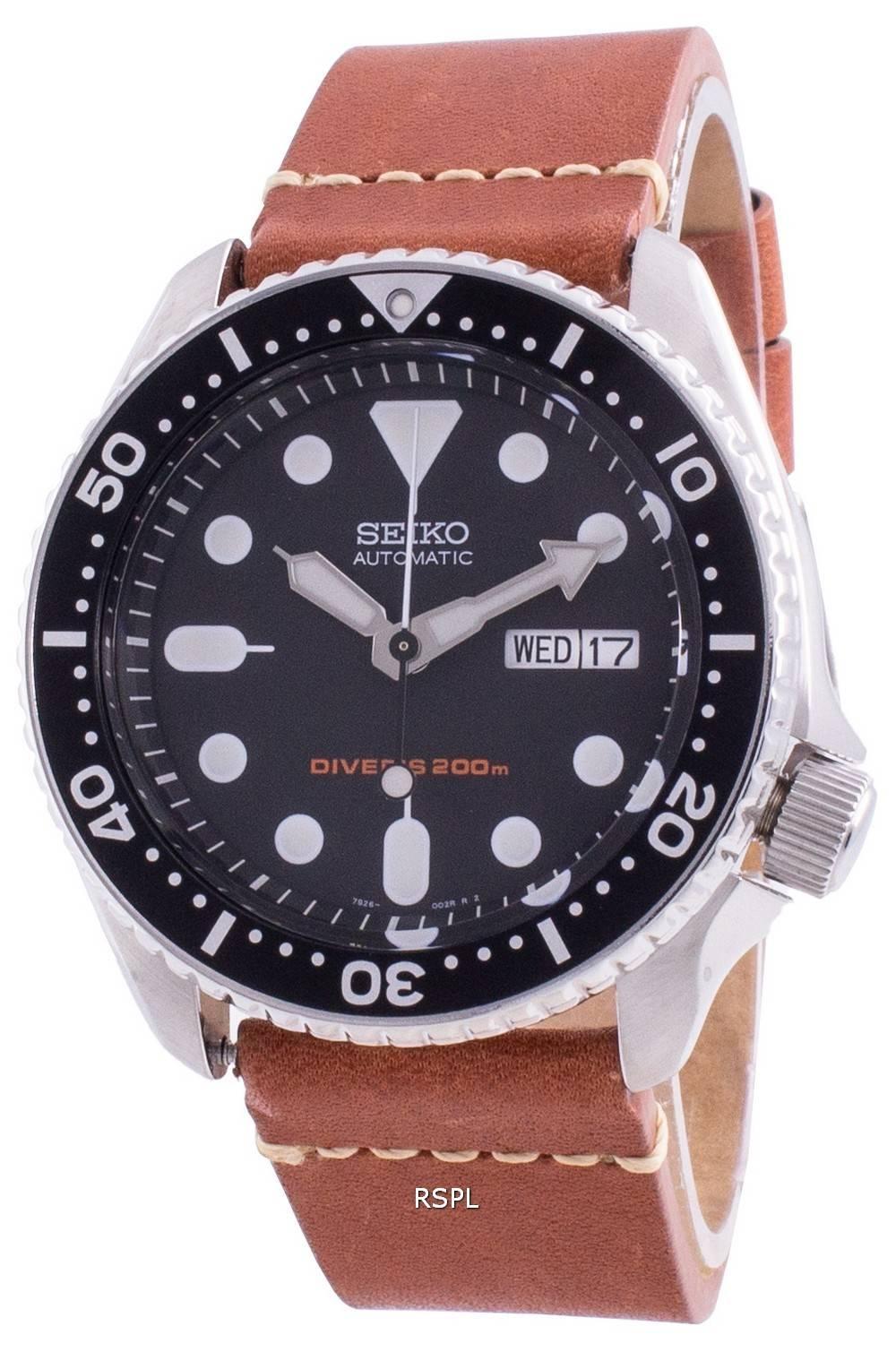 Seiko Discover More Automatic Diver&#39,s SKX007K1-var-LS21 200M miesten kello