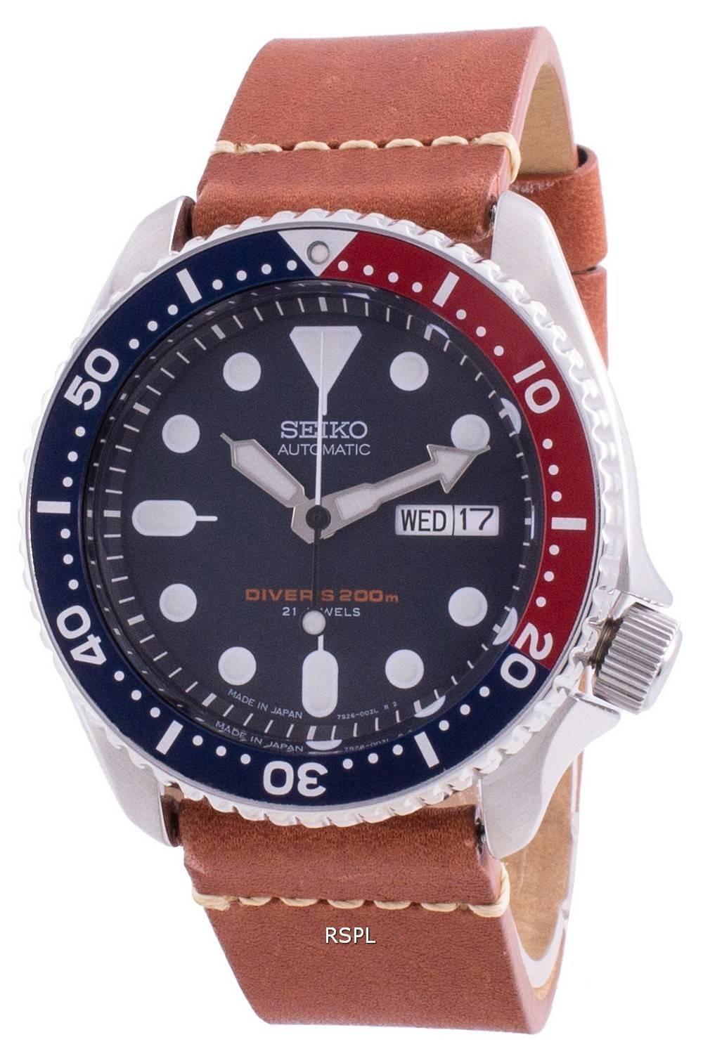 Seiko Automatic Diver&#39,s SKX009J1-var-LS21 200M Japan Made Miesten kello